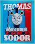 Thomas de Trein fleece deken Adventure