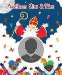 Sinterklaas poster WELKOM SINT en PIET