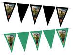 Gepersonaliseerde vlaggenlijn The Avengers Hulk thema voorbeeld