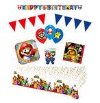 Super Mario feestpakket Deluxe