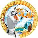 Disney Frozen Olaf party bordjes