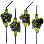 Teenage Mutant Ninja Turtles party rietjes