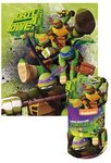 Teenage Mutant Ninja Turtles fleece deken Power