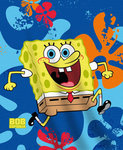 Spongebob fleece deken