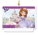 Sofia het Prinsesje verjaardag taart kaars