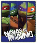 Teenage Mutant Ninja Turtles fleece deken Training