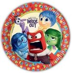 Disney Inside Out party bordjes