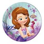 Sofia het Prinsesje party bordjes Pearl of the Sea