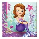 Sofia het Prinsesje servetten Pearl of the Sea