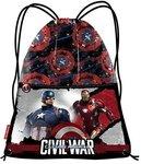The Avengers Captain America gymtas Civil War