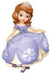 Sofia het Prinsesje foil ballon groot