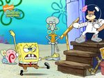 Spongebob canvas 40x30cm