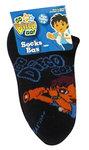 Diego sneaker sokken zwart