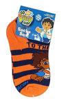 Diego sneaker sokken oranje