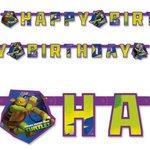 Teenage Mutant Ninja Turtles HAPPY BIRTHDAY slinger