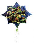 Teenage Mutant Ninja Turtles folie ballon Super Shape