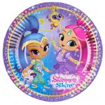Shimmer and Shine taartbordjes