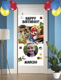 Gepersonaliseerde deurbanner Super Mario
