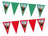 Gepersonaliseerde vlaggenlijn Bing het konijn thema voorbeeld