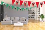 Gepersonaliseerde vlaggenlijn Bing het konijn thema voorbeeld kamer