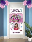 Gepersonaliseerde deurbanner LOL Surprise voorbeeld