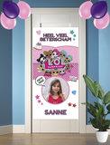Gepersonaliseerde deurbanner LOL Surprise beterschap voorbeeld