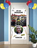 Gepersonaliseerde deurbanner Ninjago thema Turks voorbeeld