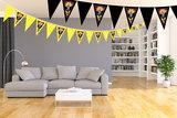 Gepersonaliseerde vlaggenlijn Batman thema kamer voorbeeld