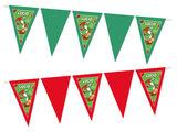 Gepersonaliseerde vlaggenlijn Super Mario Yoshi thema