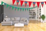 Gepersonaliseerde vlaggenlijn PJ Masks thema kamer voorbeeld
