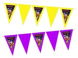 Gepersonaliseerde vlaggenlijn Lego Movie thema voorbeeld