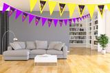 Gepersonaliseerde vlaggenlijn Lego Movie thema kamer voorbeeld