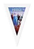 Gepersonaliseerde vlaggenlijn Disney Frozen thema desighn voorbeeld