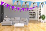 Gepersonaliseerde vlaggenlijn Speelgoed Dokter thema kamer voorbeeld