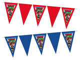 Gepersonaliseerde vlaggenlijn Brawl Stars thema voorbeeld
