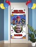 Gepersonaliseerde deurbanner Brawl Stars thema beterschap voorbeeld