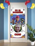 Gepersonaliseerde deurbanner Brawl Stars thema turks voorbeeld