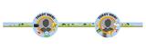 Gepersonaliseerde honeycomb 3 delig set Super Mario thema template