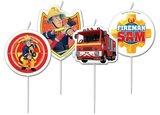 Brandweerman Sam verjaardagskaarsen