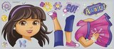 Dora Explorer and Friends XL muursticker