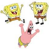 Spongebob foam wanddecoratie elementen