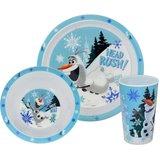 Disney Frozen Olaf dinner set