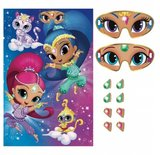 Shimmer and Shine verjaardagsspel