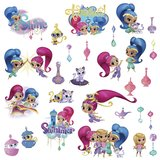 Shimmer and Shine wanddecoratie