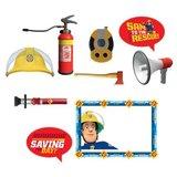Brandweerman Sam fotoshoot accessoires