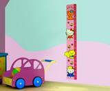 Hello Kitty wand groeimeter voorbeeld