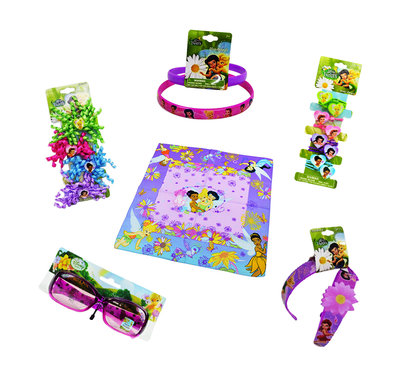 Disney Tinkerbell 17-delig accessoires giftset