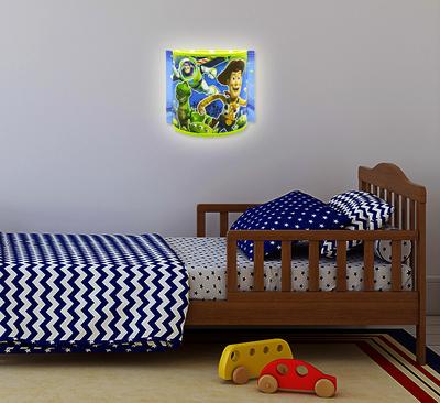 Disney Toy Story wandlamp half rond