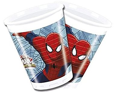 Spiderman party bekers