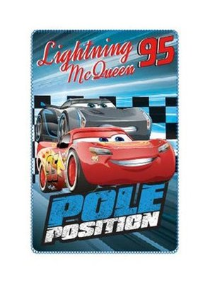 Disney Cars fleece deken Pole Position